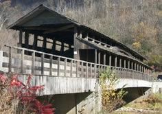 Claycomb Covered Bridge before
