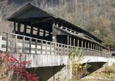 Claycomb Covered Bridge before